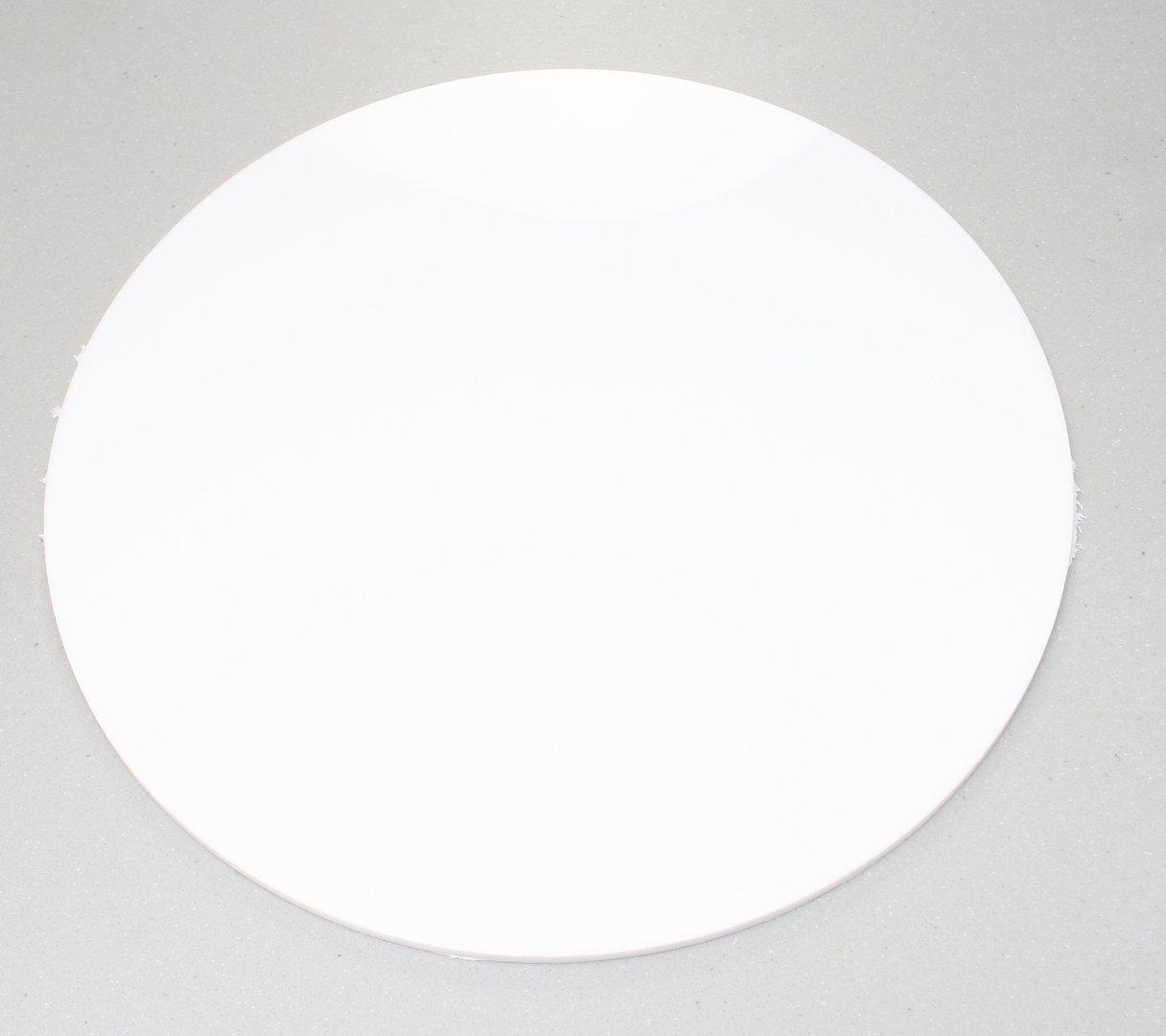 White Acrylic Disc Circles Southern Acrylics