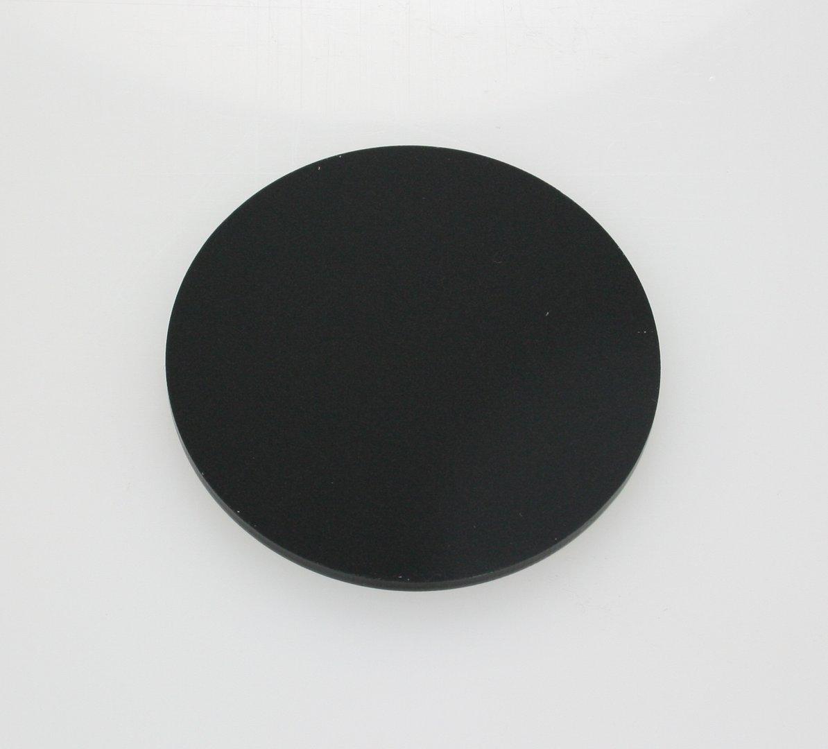 Black Acrylic Disc Circles Southern Acrylics