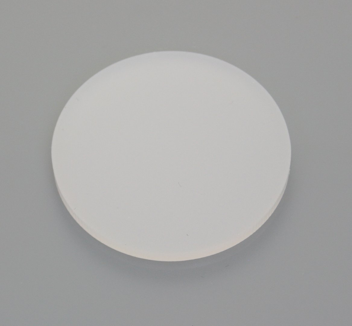 Frosted White Acrylic Discs Southern Acrylics