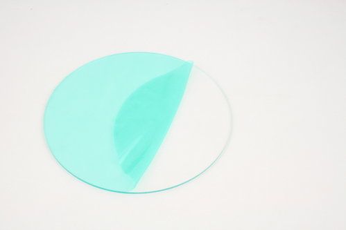 Clear Acrylic Disc Circles