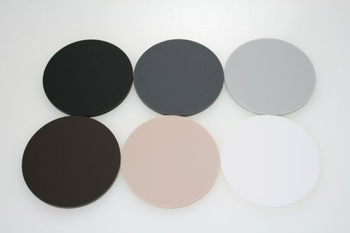 Natural Earth Colour Discs