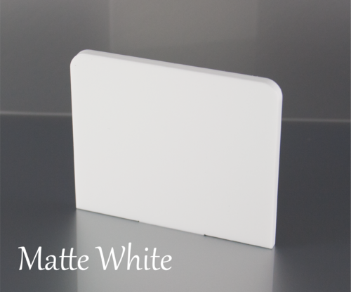 Matte White Acrylic Sheets