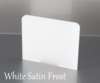 Frosted White Acrylic