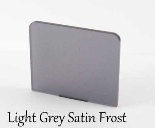 Light Grey Frosted Acrylic