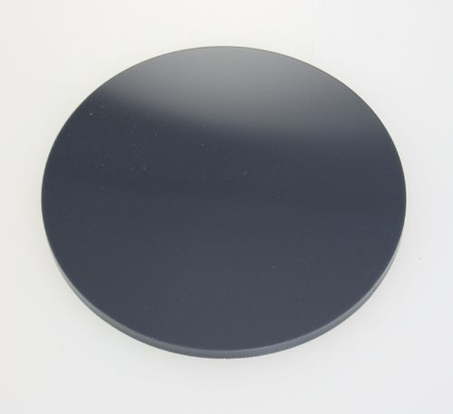 Dark Grey Acrylic Discs