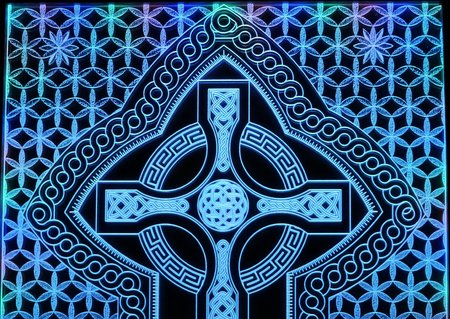 Celtic Cross etching\\n\\n12/04/2016 12:02
